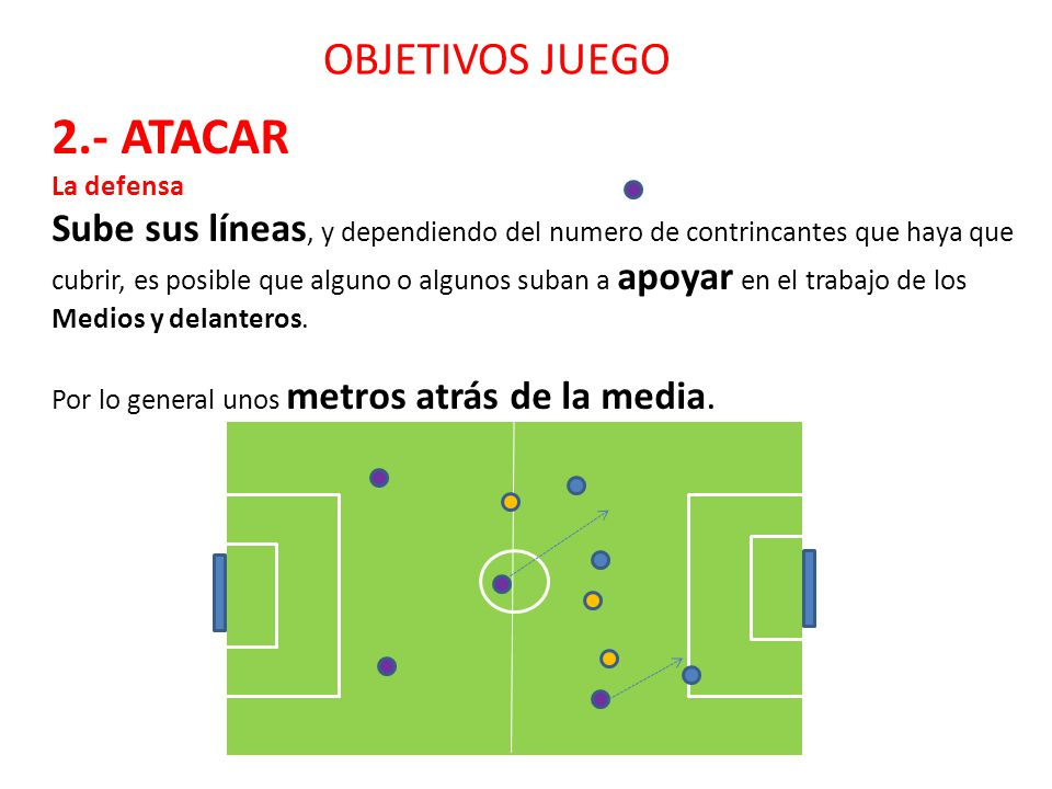 2.- ATACAR OBJETIVOS JUEGO