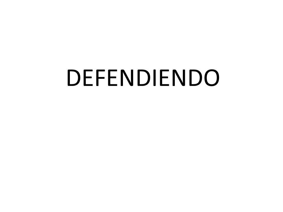 DEFENDIENDO