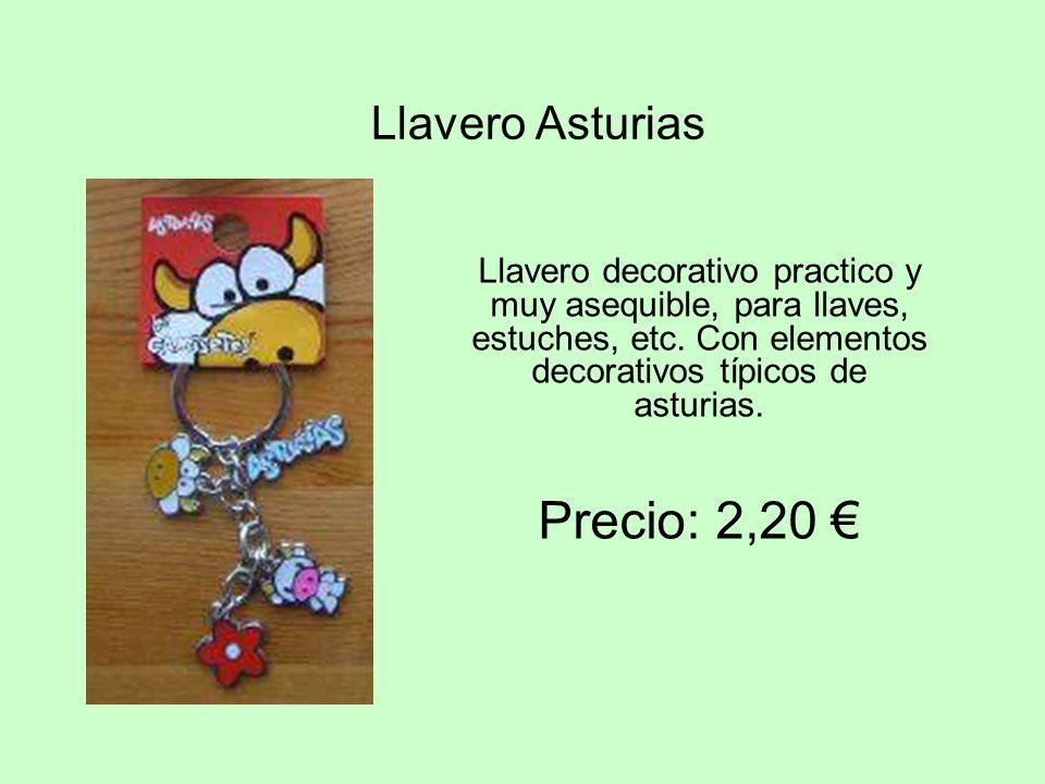 Precio: 2,20 € Llavero Asturias