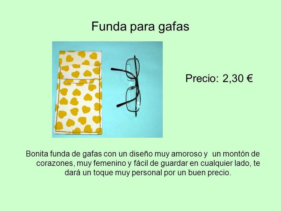 Funda para gafas Precio: 2,30 €