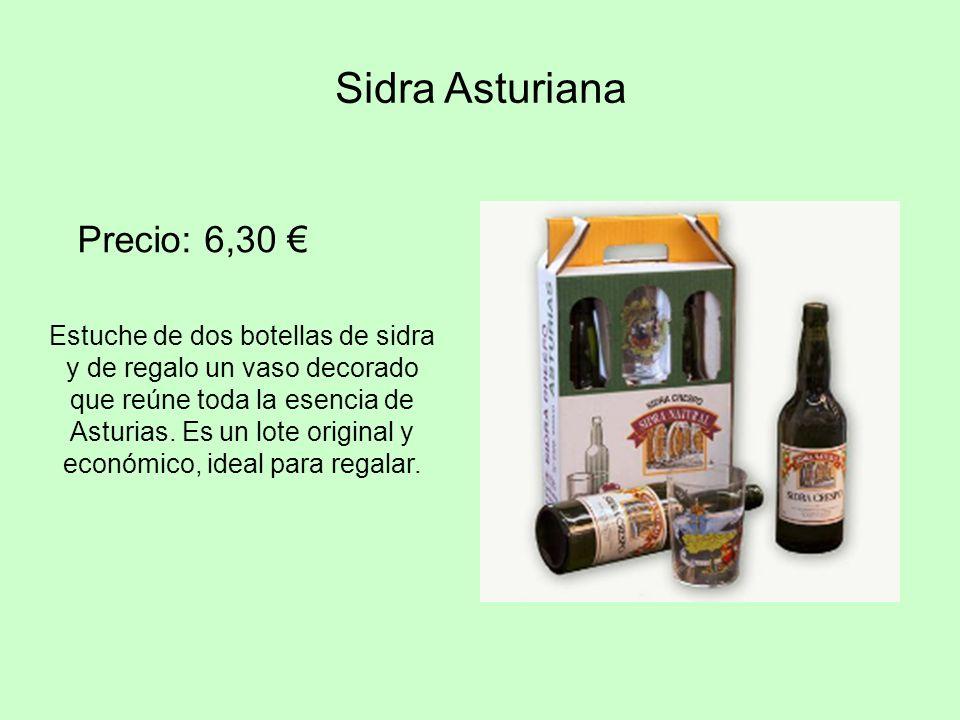 Sidra Asturiana Precio: 6,30 €