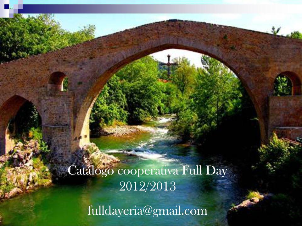 Catálogo cooperativa Full Day 2012/2013