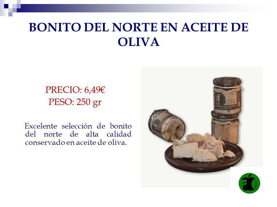 BONITO DEL NORTE EN ACEITE DE OLIVA