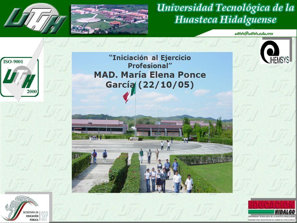 MAD. María Elena Ponce García (22/10/05)