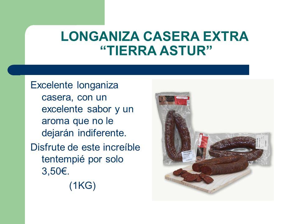 LONGANIZA CASERA EXTRA TIERRA ASTUR