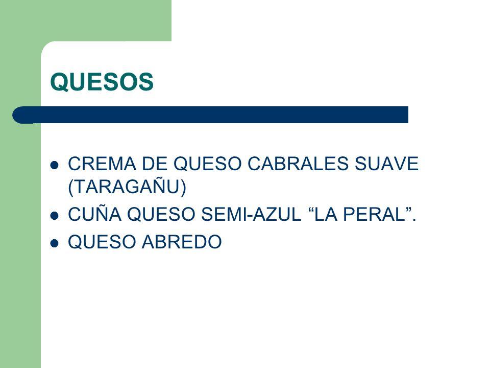 QUESOS CREMA DE QUESO CABRALES SUAVE (TARAGAÑU)