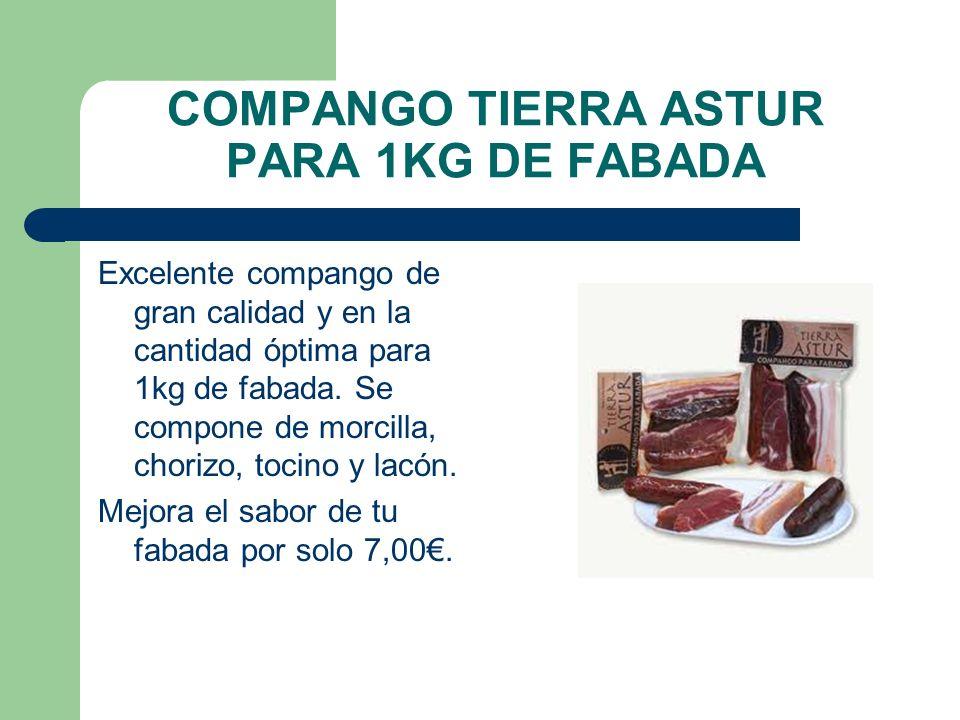 COMPANGO TIERRA ASTUR PARA 1KG DE FABADA