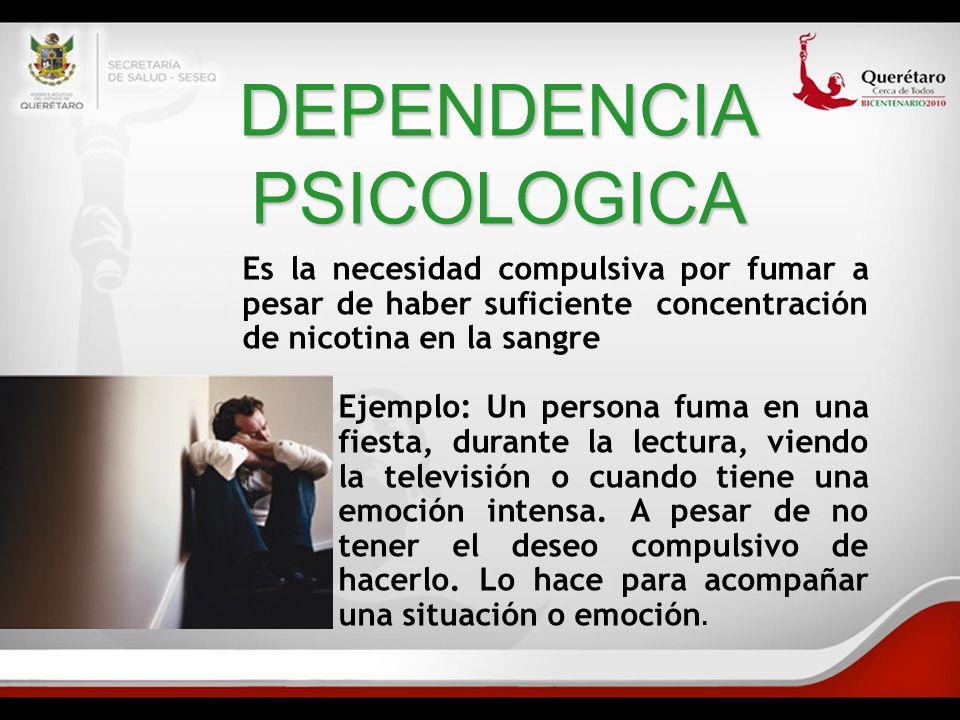 DEPENDENCIA PSICOLOGICA