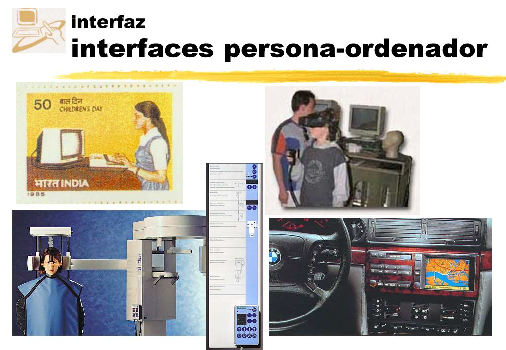 interfaz interfaces persona-ordenador