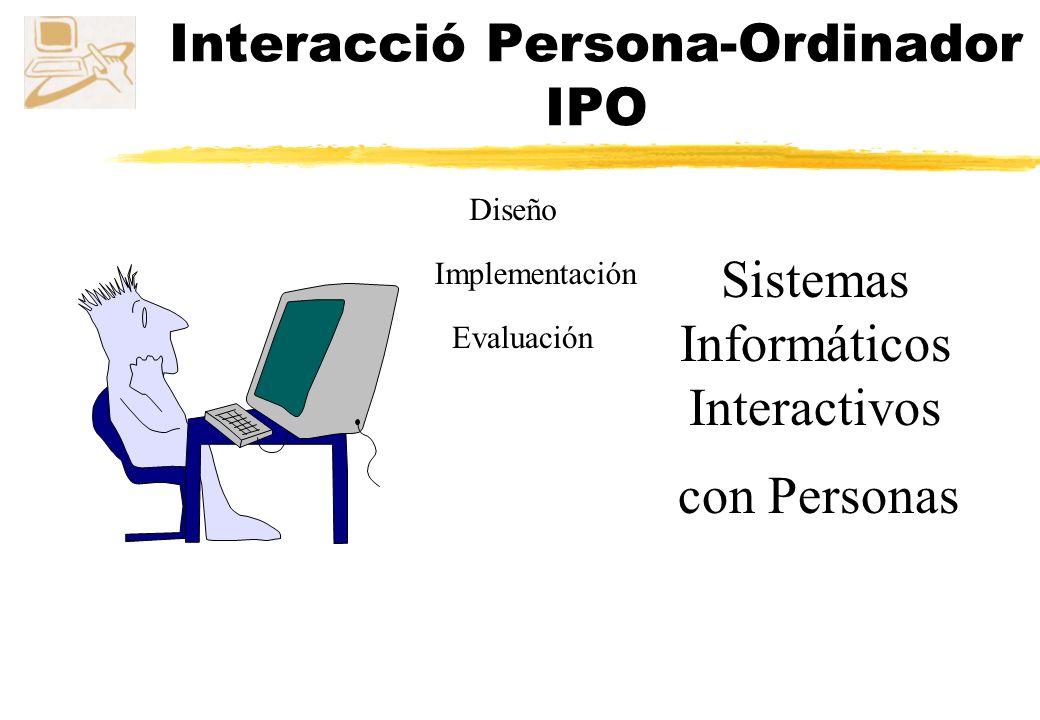 Interacció Persona-Ordinador IPO