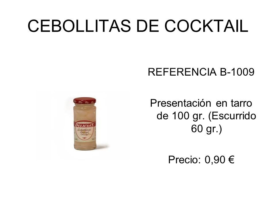 CEBOLLITAS DE COCKTAIL