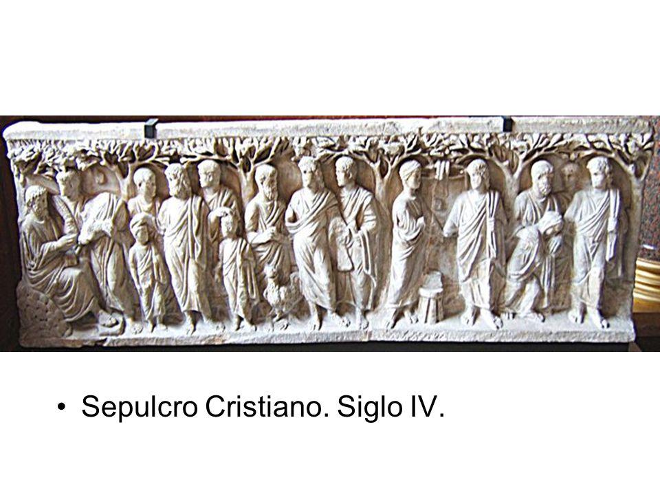 Sepulcro Cristiano. Siglo IV.
