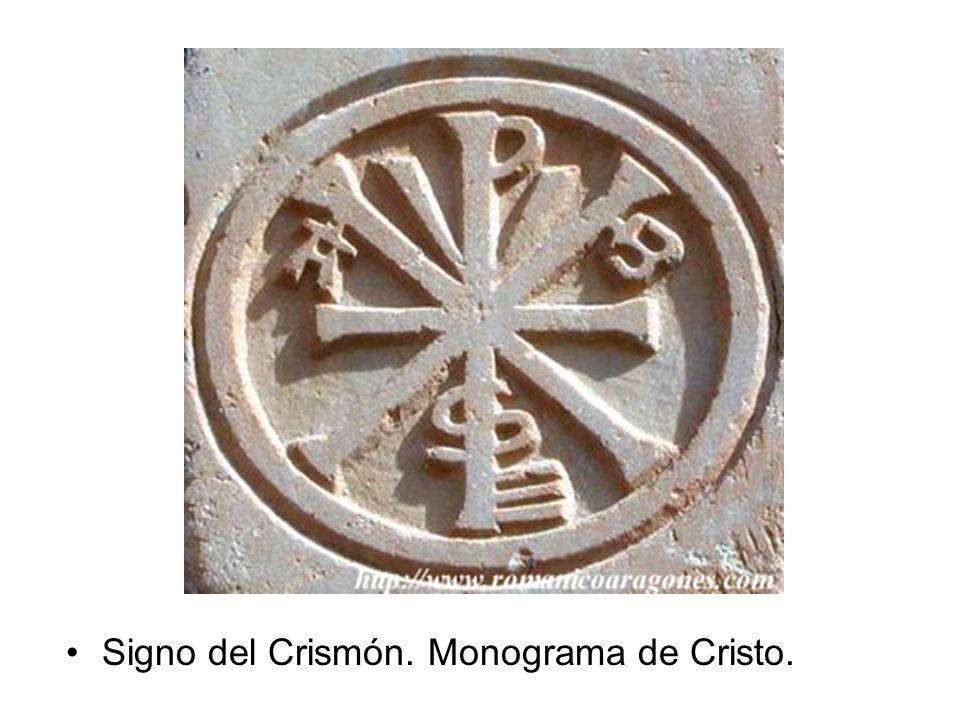 Signo del Crismón. Monograma de Cristo.