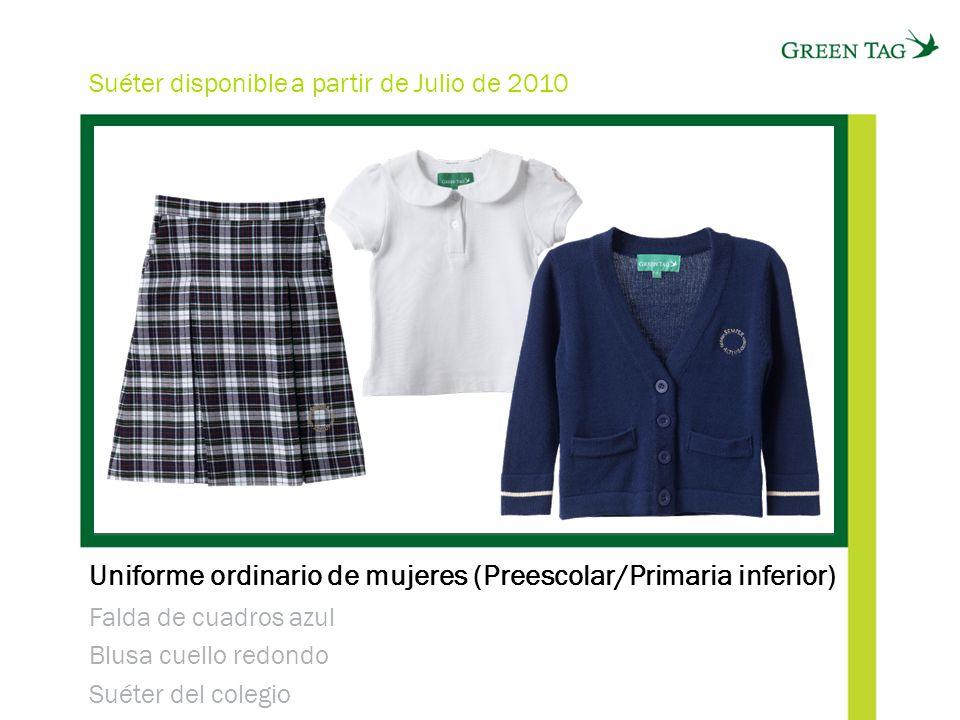 Uniforme ordinario de mujeres (Preescolar/Primaria inferior)