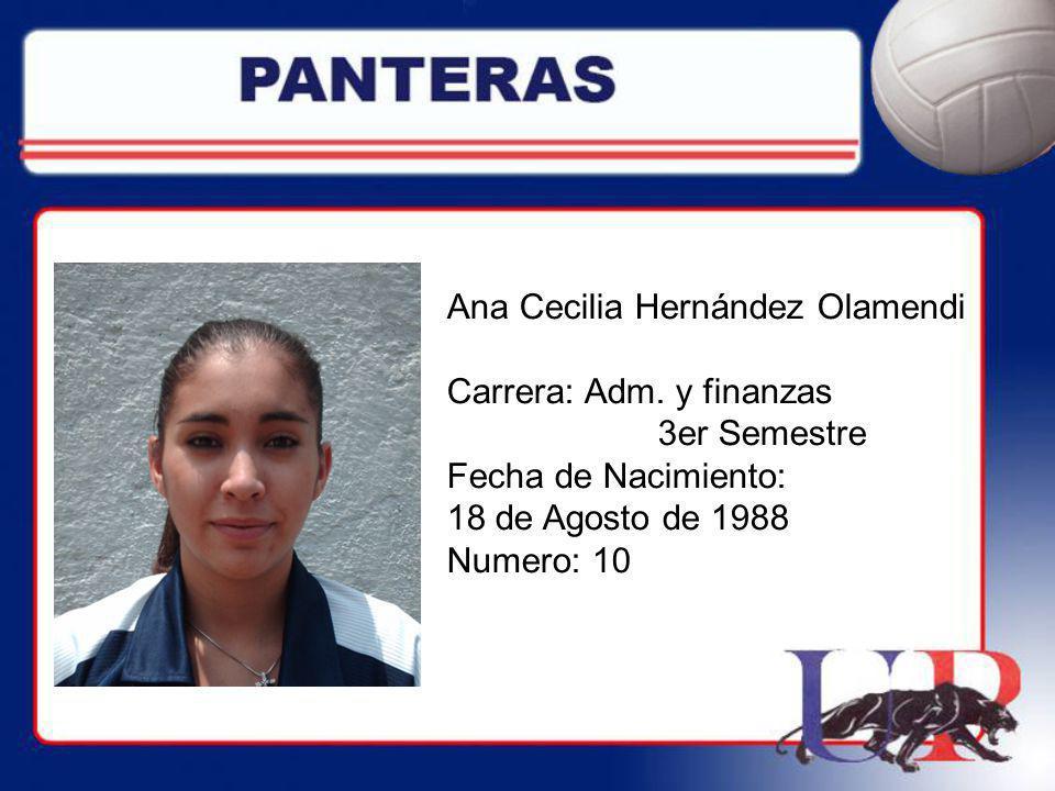 Ana Cecilia Hernández Olamendi