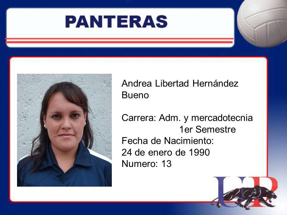 Andrea Libertad Hernández Bueno