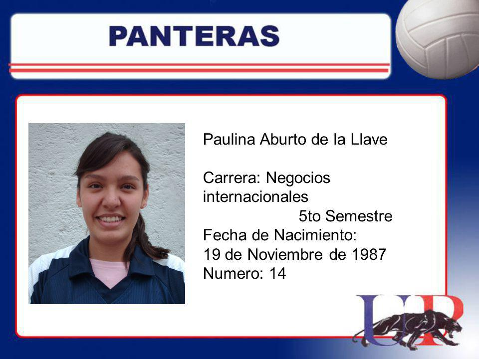Paulina Aburto de la Llave