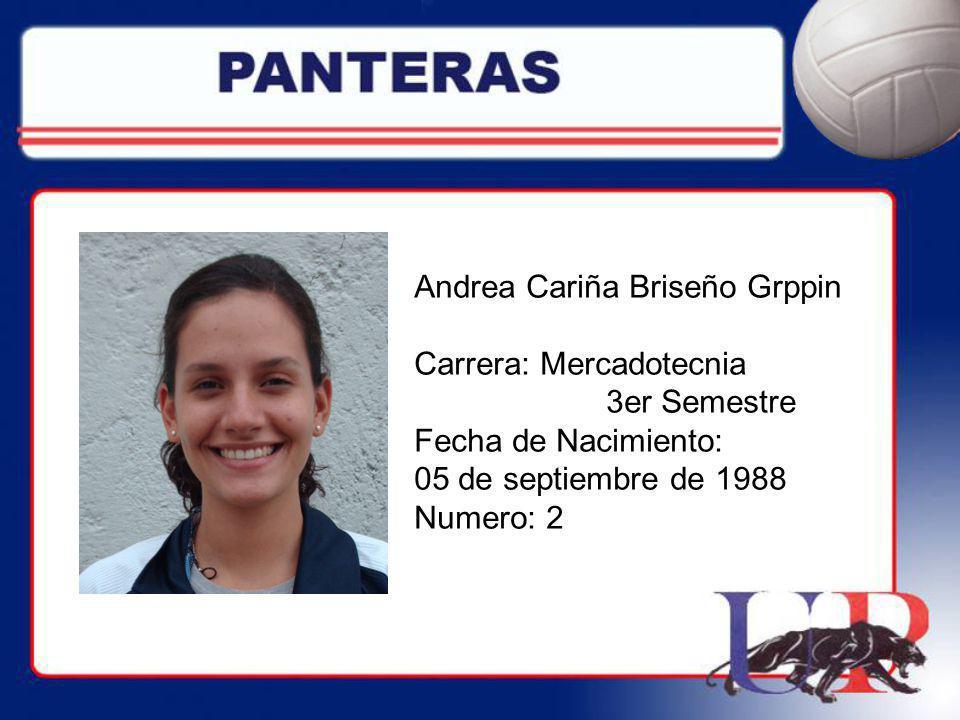 Andrea Cariña Briseño Grppin