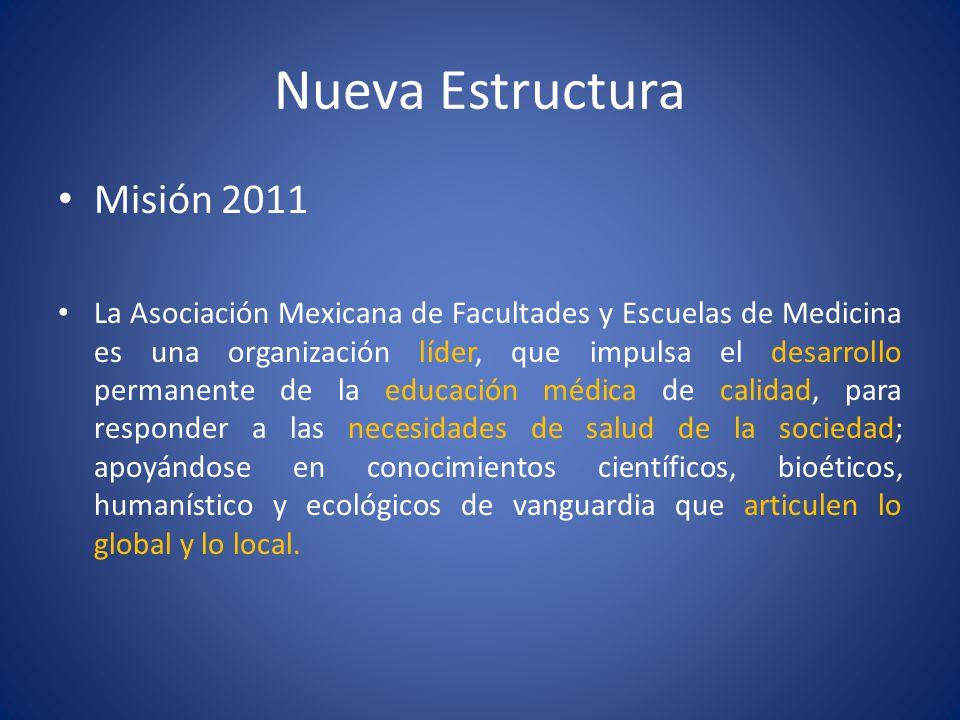 Nueva Estructura Misión 2011