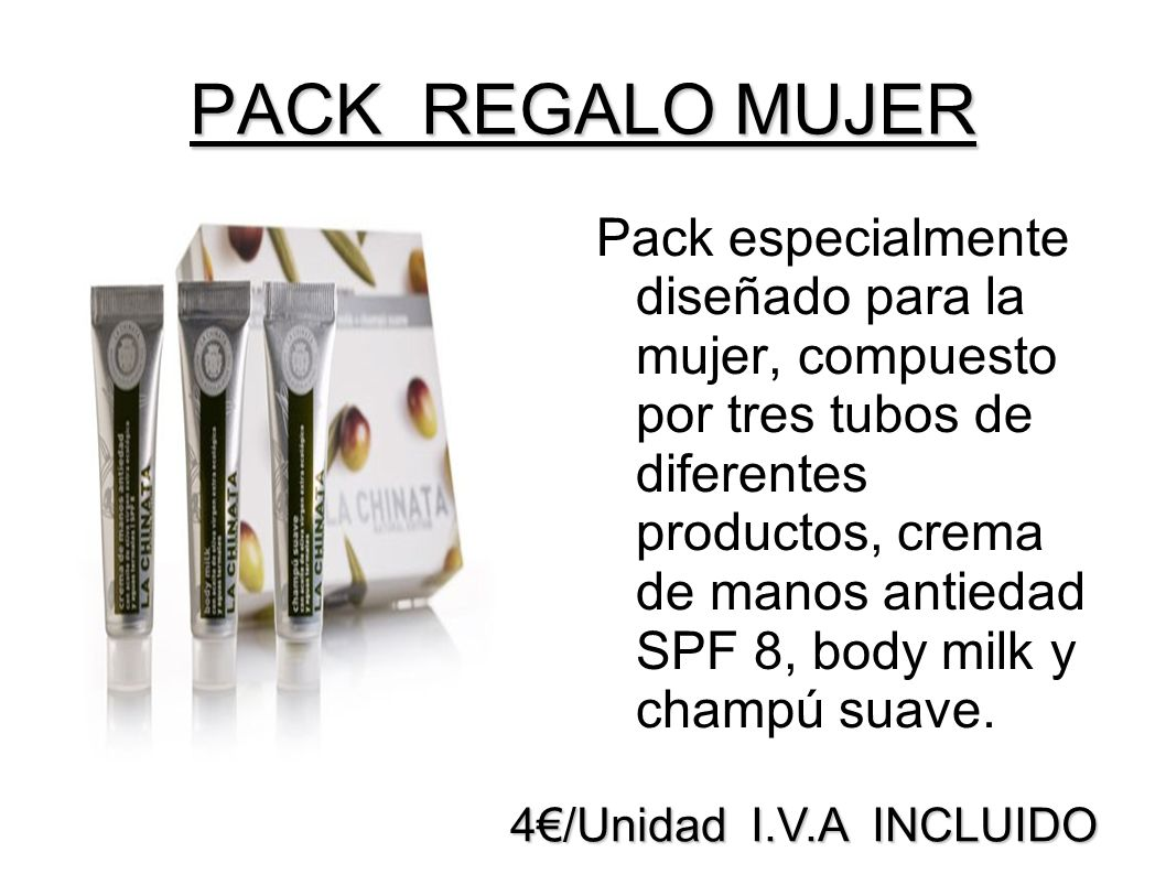 PACK REGALO MUJER