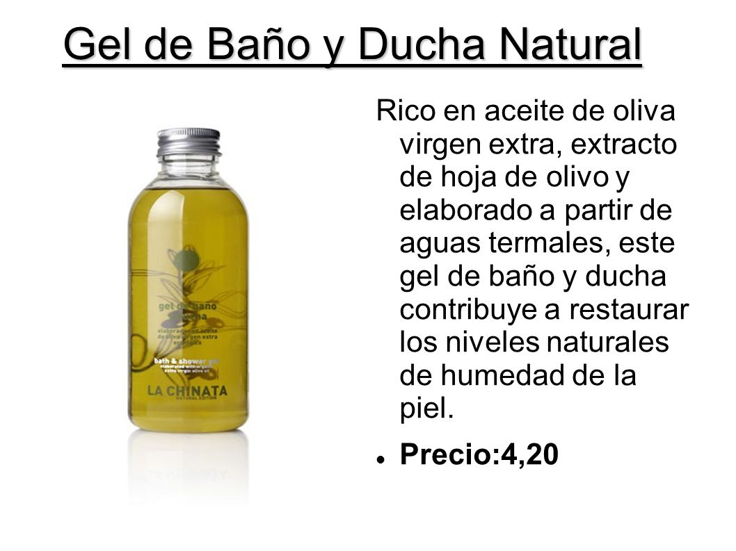 Gel de Baño y Ducha Natural