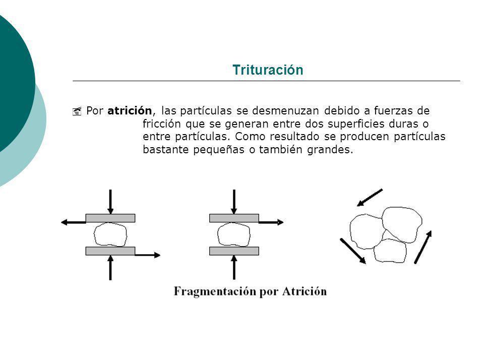 Trituración