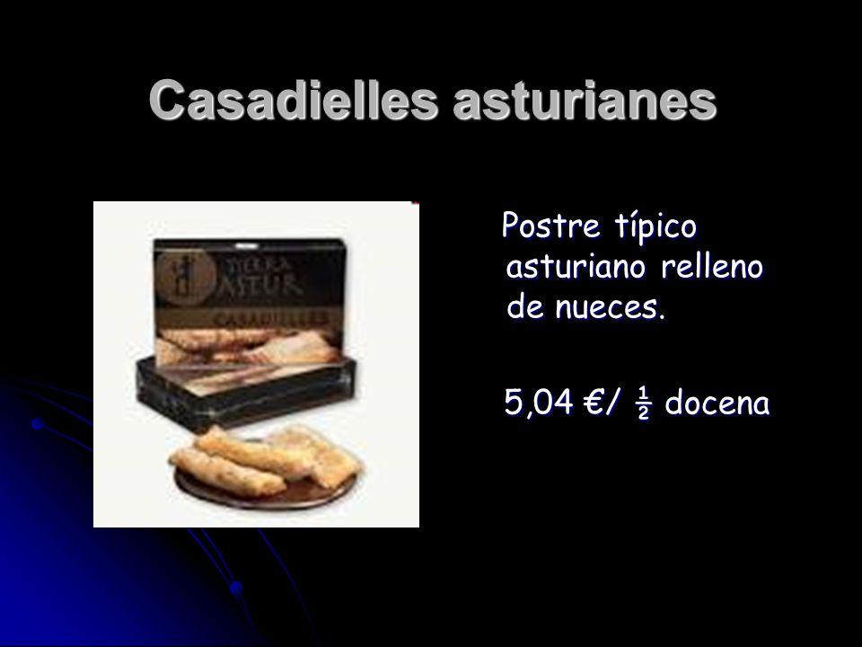Casadielles asturianes