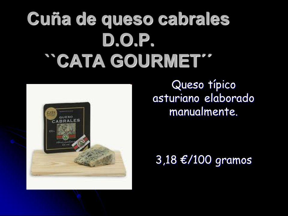 Cuña de queso cabrales D.O.P. ``CATA GOURMET´´