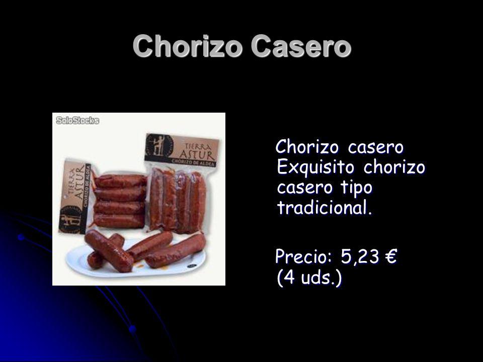 Chorizo Casero Chorizo casero Exquisito chorizo casero tipo tradicional.