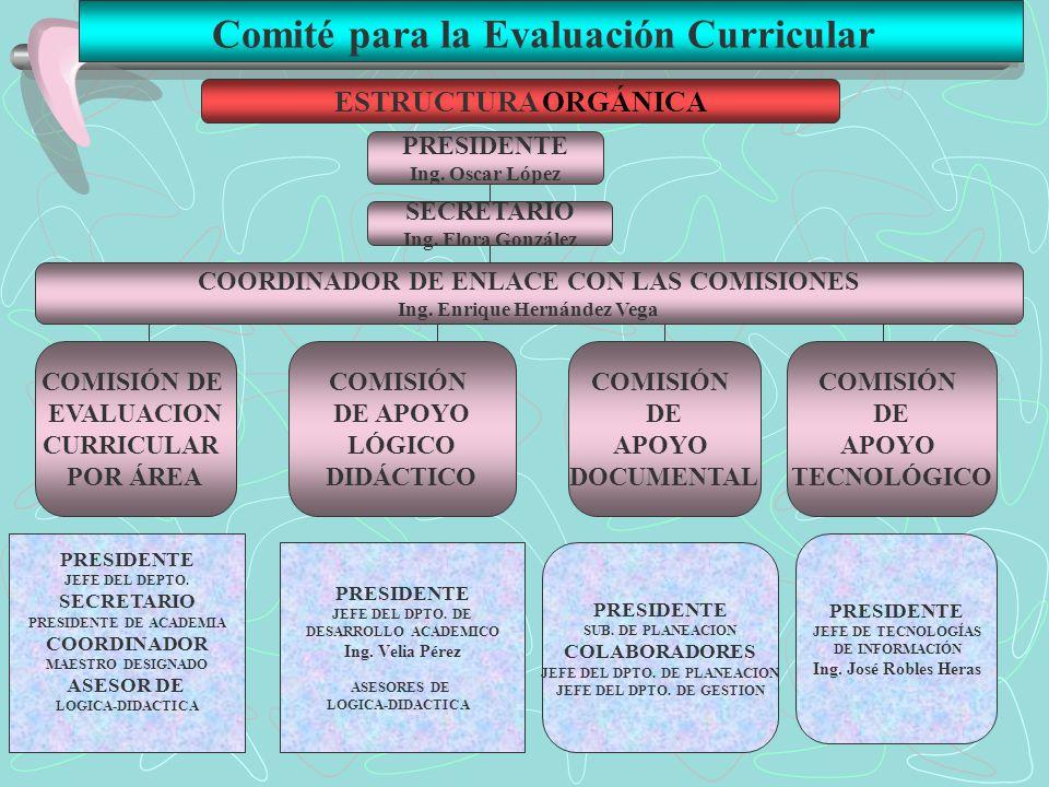 Comité para la Evaluación Curricular