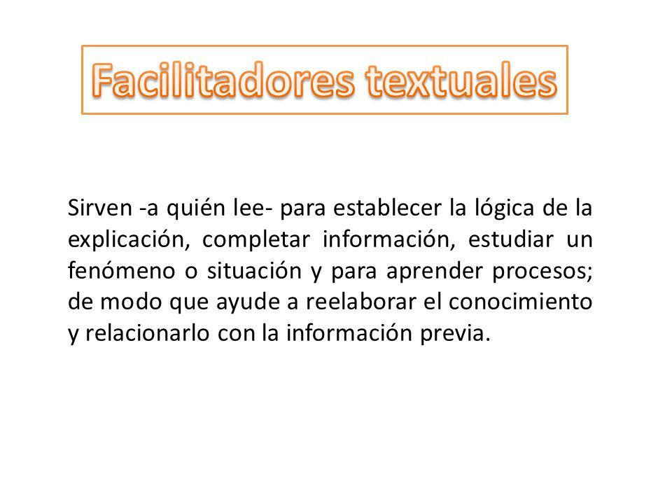 Facilitadores textuales