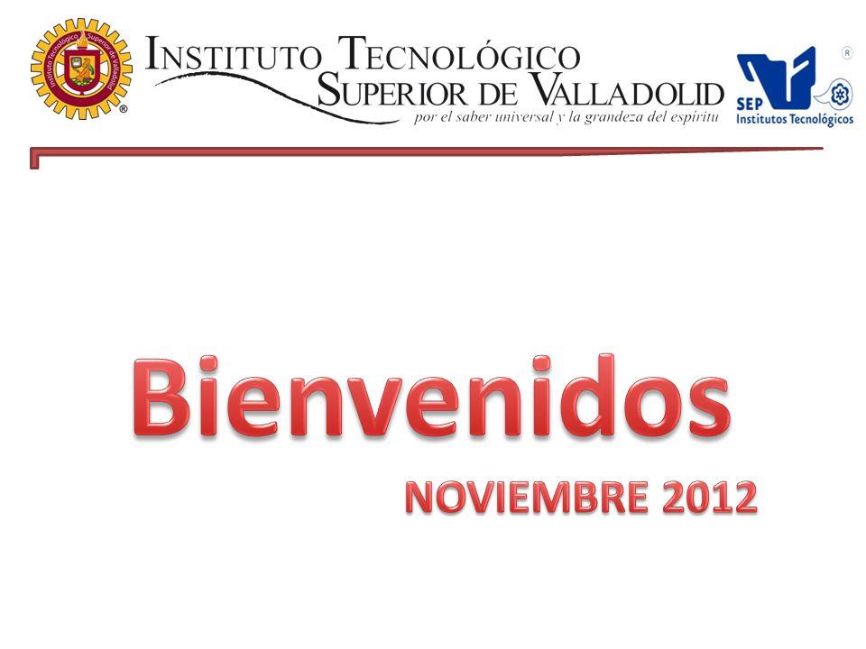 Bienvenidos NOVIEMBRE 2012