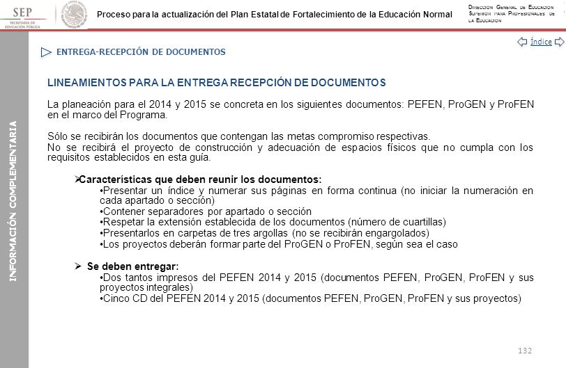 ENTREGA-RECEPCIÓN DE DOCUMENTOS