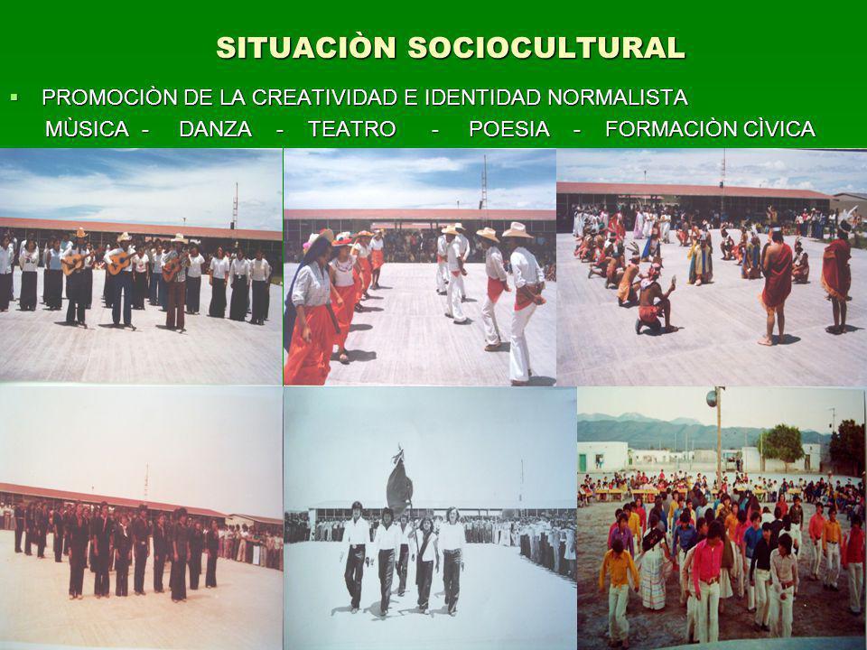 SITUACIÒN SOCIOCULTURAL