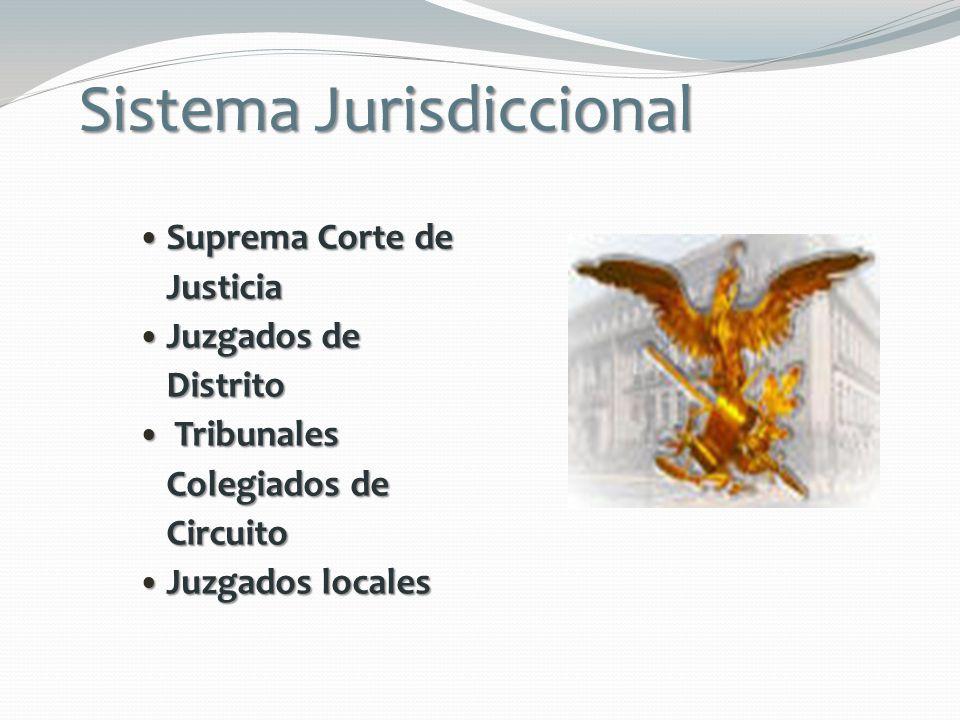 Sistema Jurisdiccional