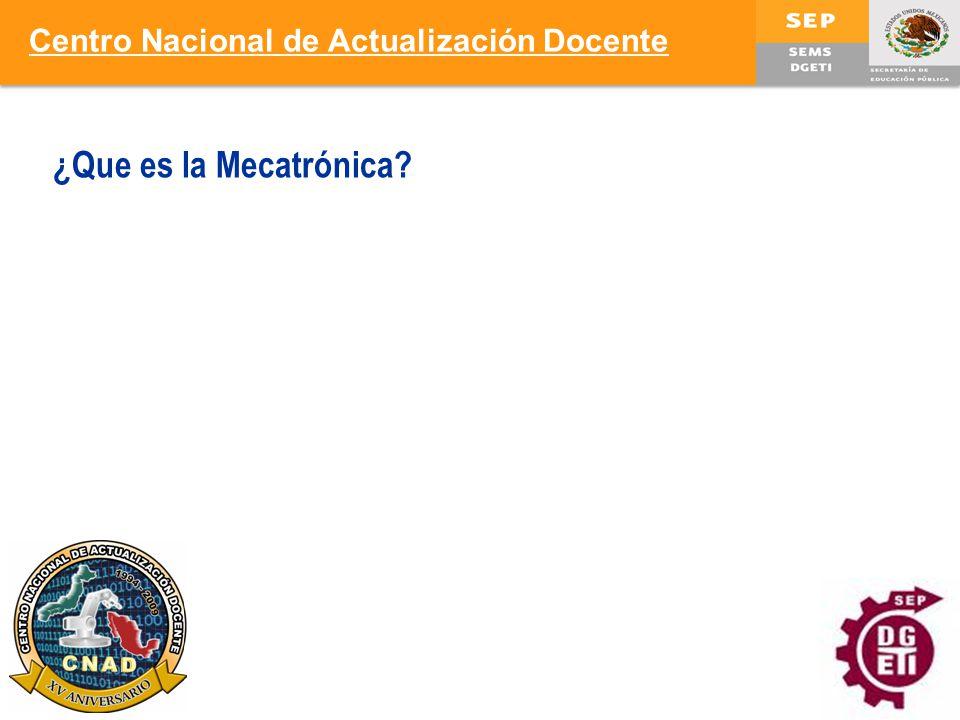 Centro Nacional de Actualización Docente