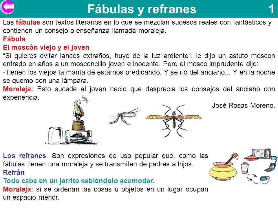 Fábulas y refranes 1