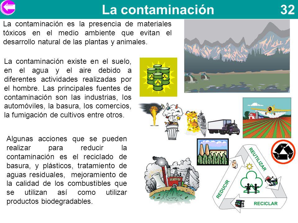 La contaminación 32