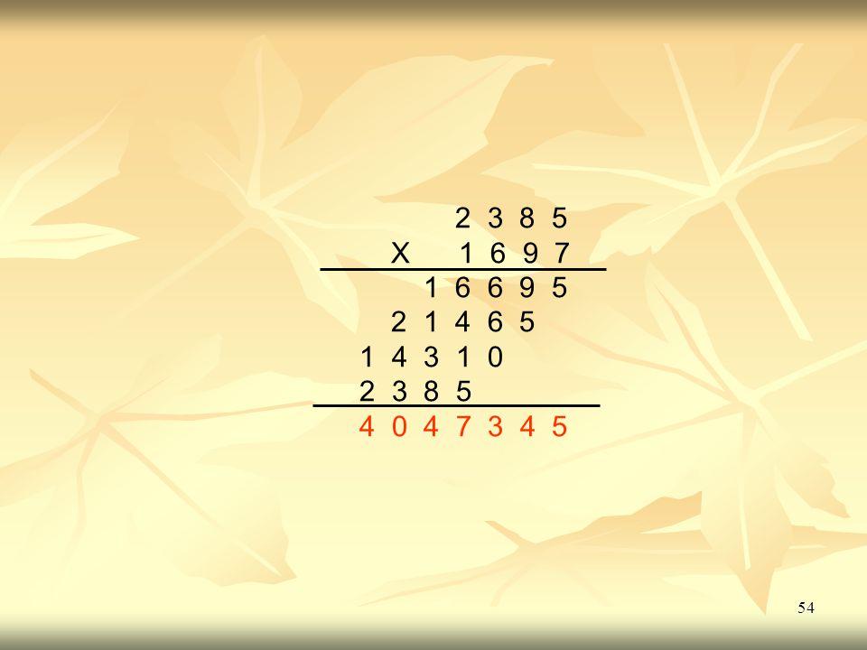 2 3 8 5 X 1 6 9 7 1 6 6 9 5 2 1 4 6 5 1 4 3 1 0 4 0 4 7 3 4 5