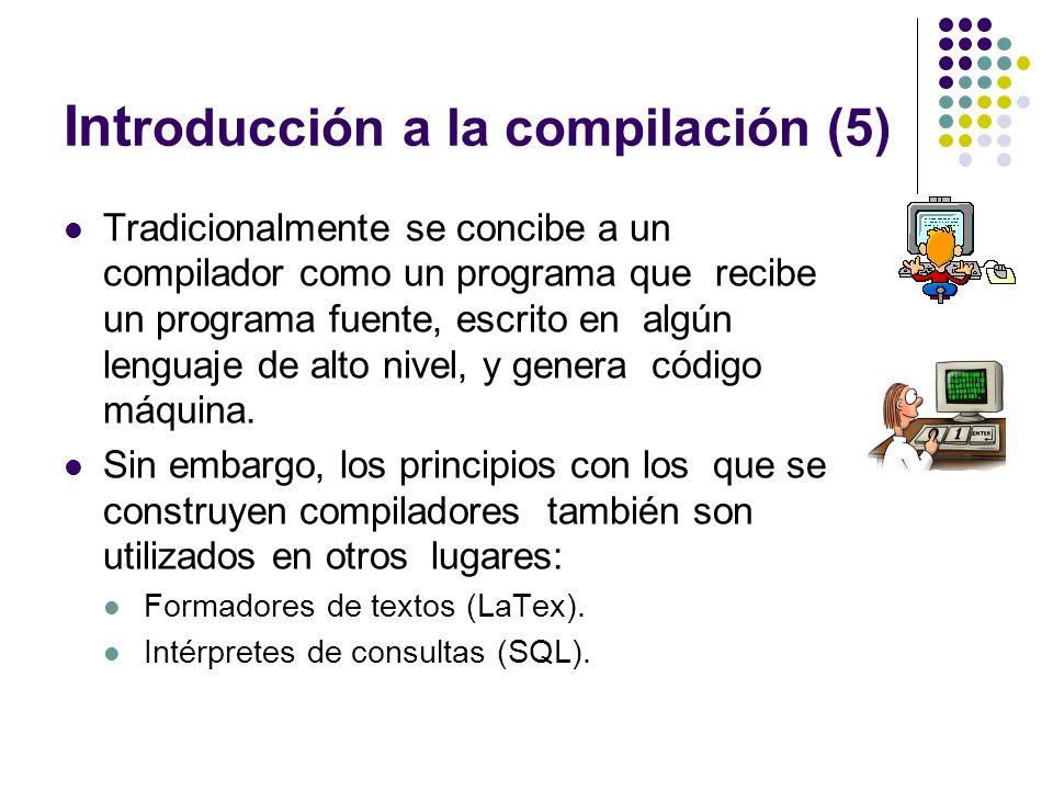 Introducción a la compilación (5)