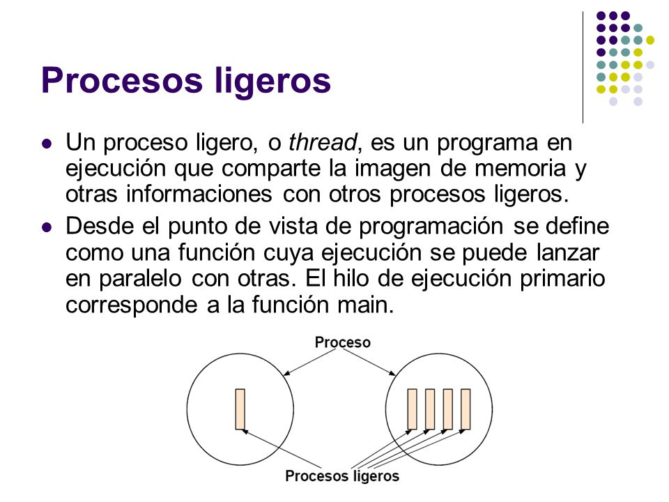 Procesos ligeros