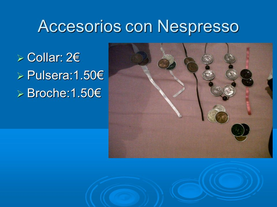 Accesorios con Nespresso