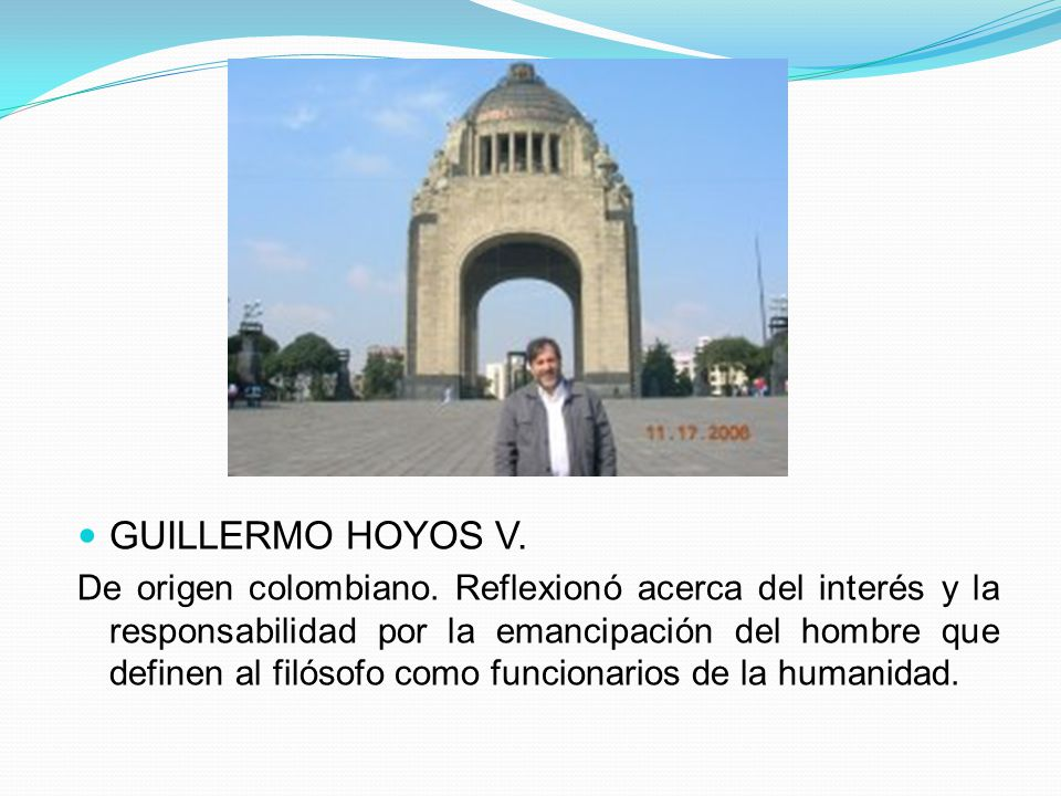 GUILLERMO HOYOS V.