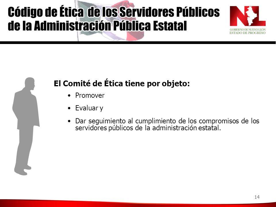 Sus funciones: Recibir observaciones o sugerencias de la ciudadanía sobre el cumplimiento del Código de Ética.