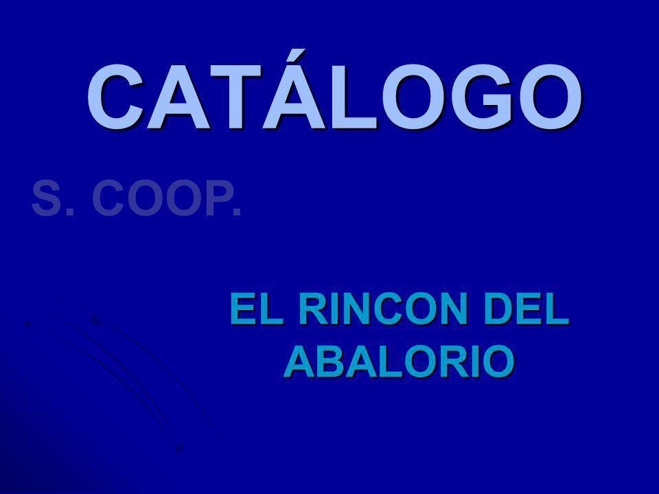 CATÁLOGO S. COOP. EL RINCON DEL ABALORIO