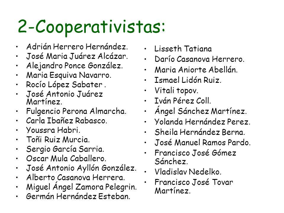2-Cooperativistas: Adrián Herrero Hernández. Lisseth Tatiana