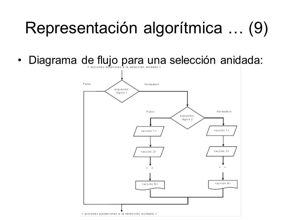 Representación algorítmica … (9)