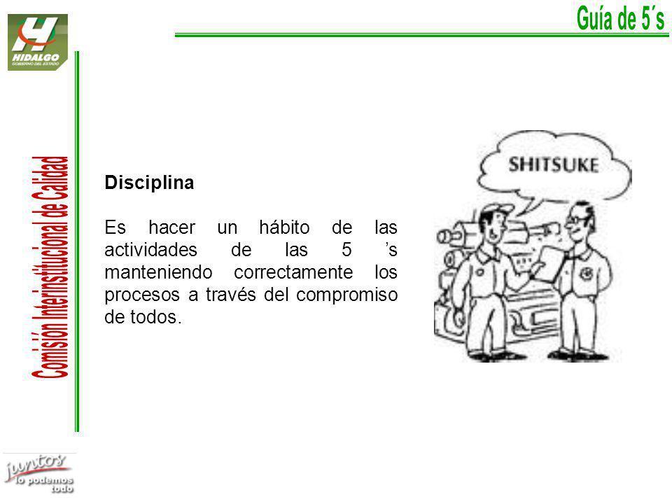 Guía de 5´s Disciplina.