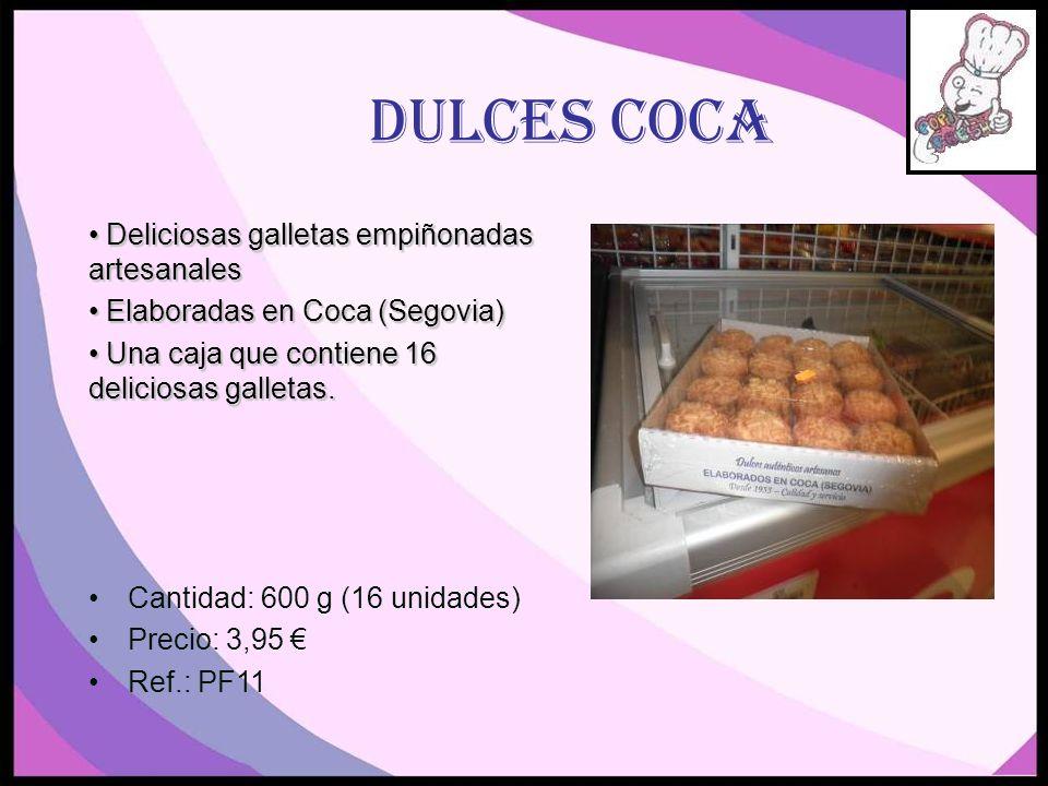 DULCES COCA Deliciosas galletas empiñonadas artesanales