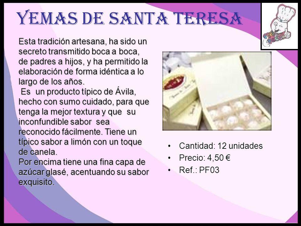 Yemas de Santa Teresa